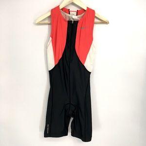 Nike Color Block Triathlon Body Suit